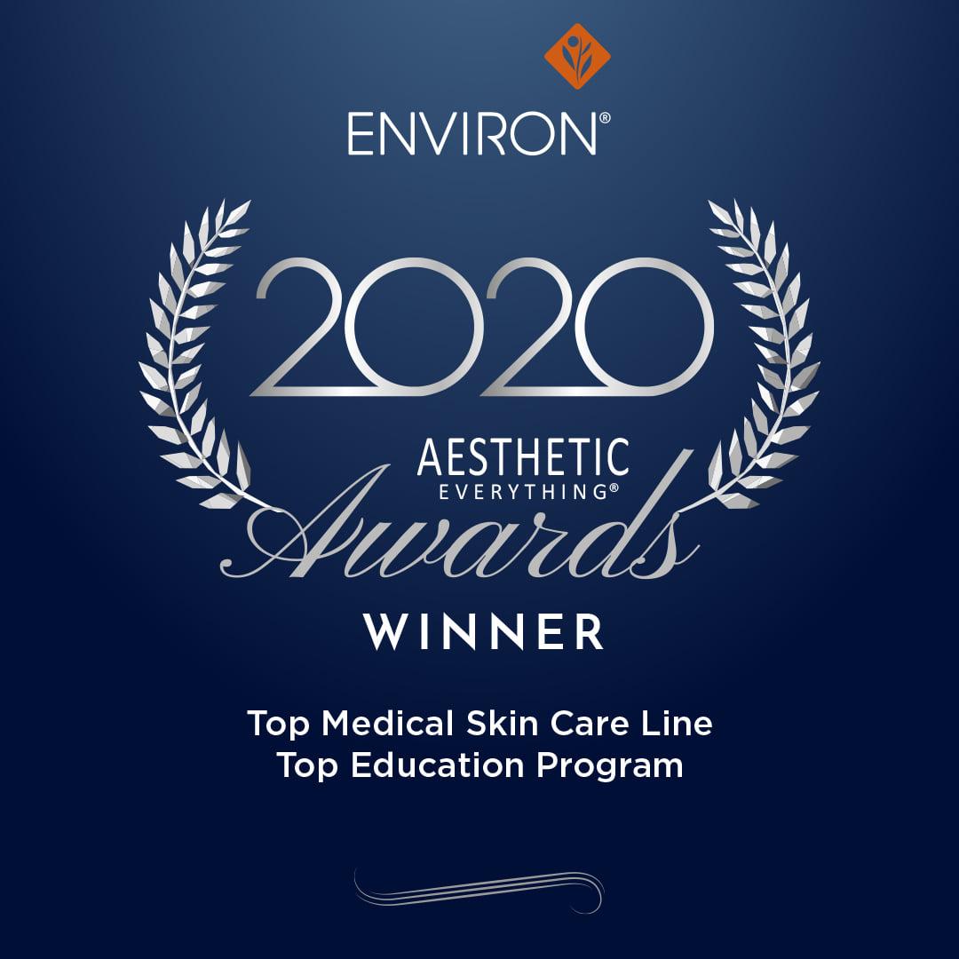 ENVIRON Skin Care Award Gewinner
