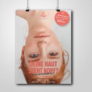100 Tage Programm Poster für Ihr Kosmetikinstitut