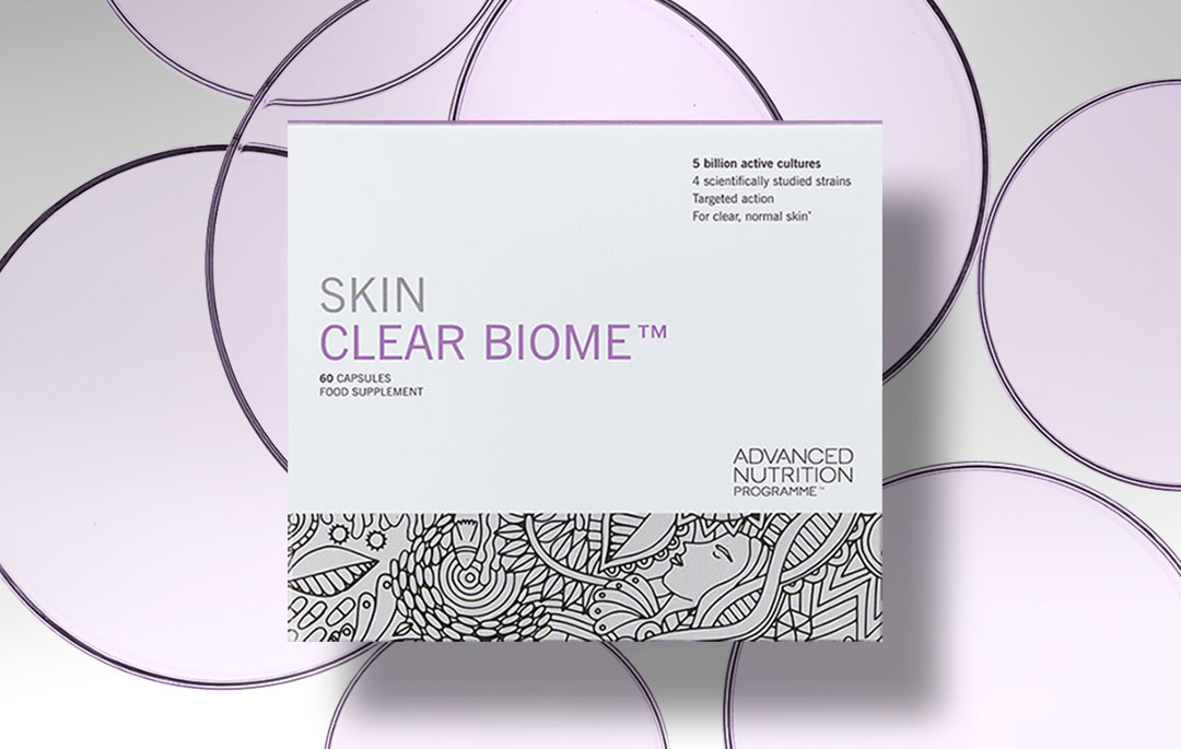 Skin Clear Biome von Advanced Nutrition Programme