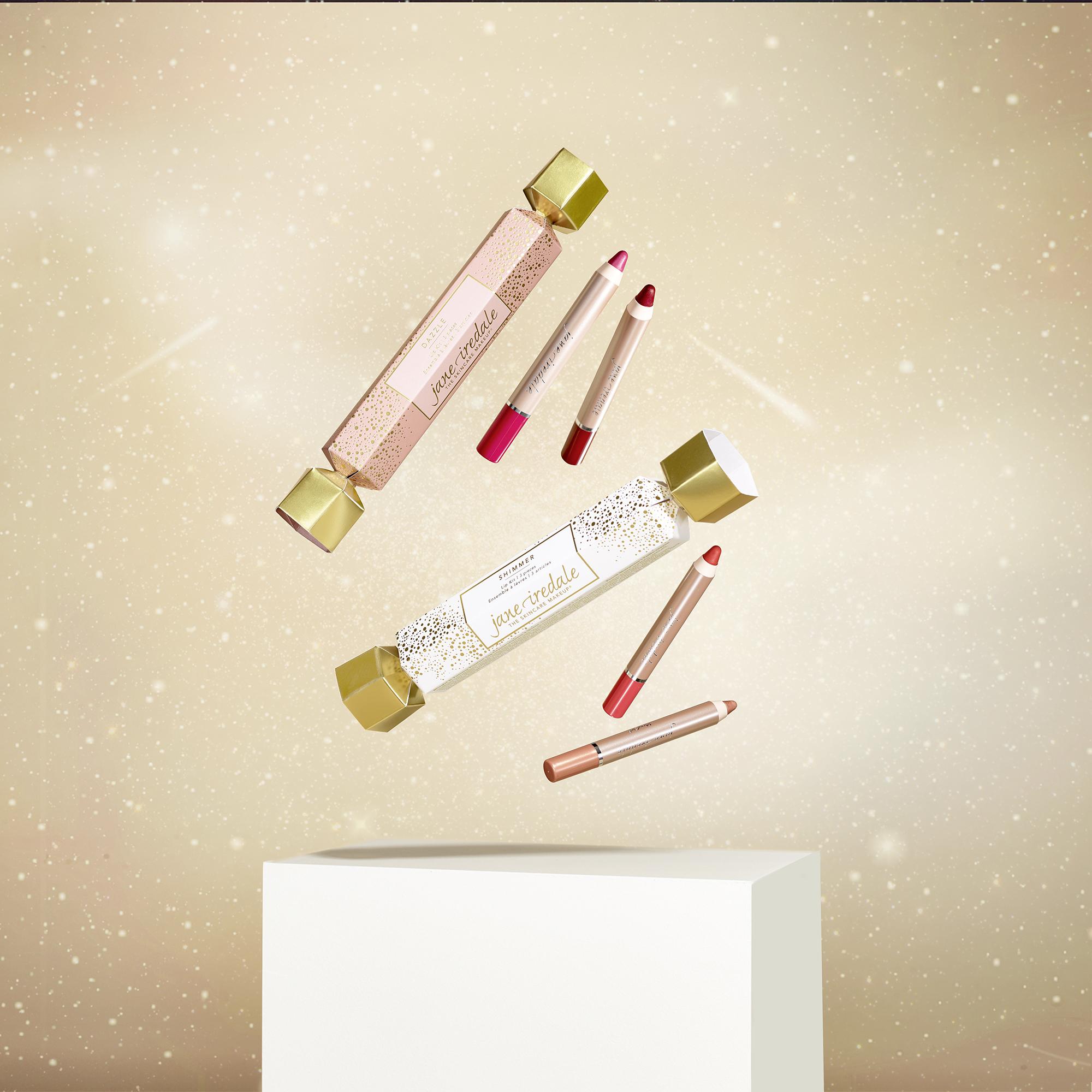 Festliches Make-up jane iredale Weihnachtskollektion