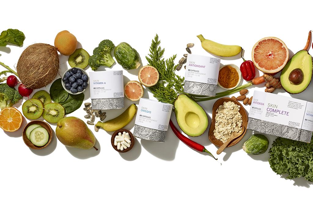 Nahrungsergänzung für die Haut