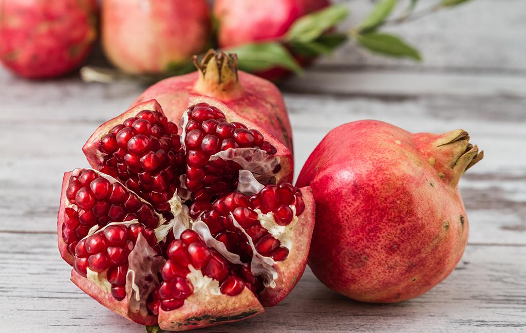 Granatapfel Antioxidantien für eine gesunde und starke Haut